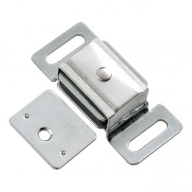 "Magnetic Catch w/ Metal Case (Cadmium) - 2/3"" x 2 1/4"""