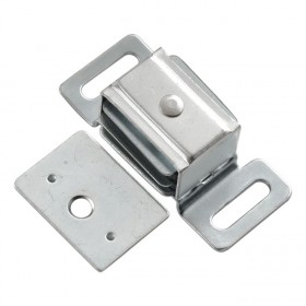 "Double Magnetic Catch (Cadmium) - 3/4"" x 2 1/4"""