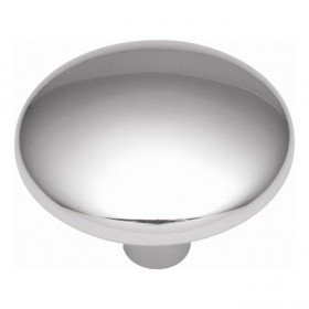 Metropolis Convex Knob (Polished Chrome) - 1 1/4""