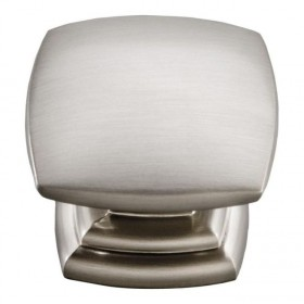 Euro Contemporary Knob (Stainless Steel) - 1 1/2""
