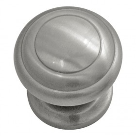 Zephyr Knob (Satin Nickel) - 1 1/4""