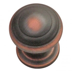 """Zephyr Knob (Oil Rubbed Bronze Highlighted) - 1"""""""