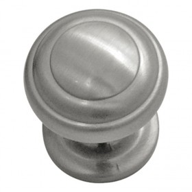 Zephyr Knob (Satin Nickel) - 1""
