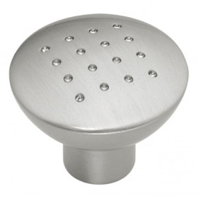 Metropolis Knob (Satin Nickel) - 1 1/4""