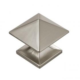 "Studio Knob (Stainless Steel) - 1 1/4"""