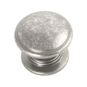 """Williamsburg Knob (Black Nickel Vibed) - 1-1/4"""""""
