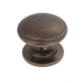 """Williamsburg Knob (Dark Antique Copper) - 1 1/4"""""""