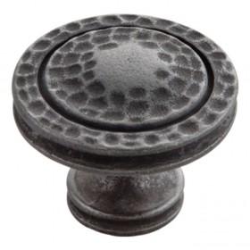 """Mountain Lodge Knob (Black Iron) - 1 3/8"""""""
