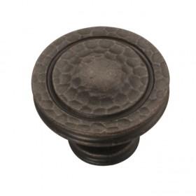 "Mountain Lodge Knob (Dark Antique Copper)- 1-3/8"""