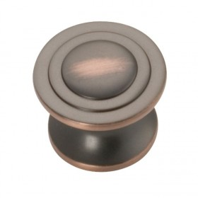 """Deco Knob (Oil Rubbed Bronze Highlighted) - 1-1/4"""""""