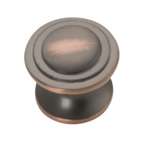 Deco Knob (Oil Rubbed Bronze Highlighted) - 1-1/16""
