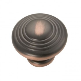 Deco Knob (Oil Rubbed Bronze Highlighted) - 1-1/4""