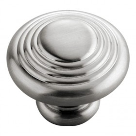 Fanfare Knob (Satin Nickel) - 1 1/4""
