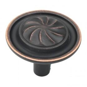 "Roma Knob (Vintage Bronze) - 1 1/4"""