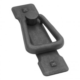 "Old Mission Ring Pull (Black Mist Antique) - 1"" x 3 1/2"""