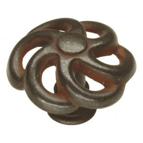 Charleston Blacksmith Knob (Rustic Iron) - 1 1/2""