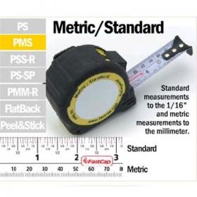 Pad Metric/Standard Tape Measure - 16ft