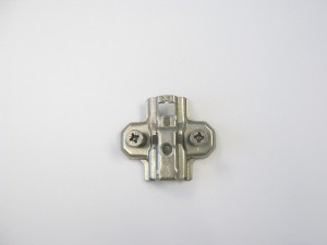 Screw-on Wing Mounting Plate, W/Euro Screw