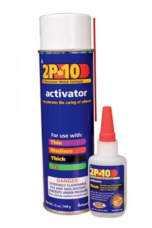 2P-10 Solo Adhesive Kit - 12 Oz, 2 Oz