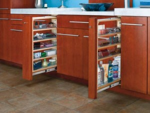 """3"""" Vanity Pull-Out Filler W/6 Poly Bins"""