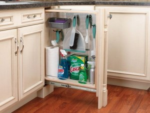 """6"""" Base Filler Organizer with Stainless Panel"""