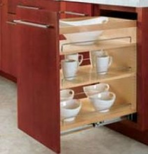 "14"" Base Organizer with Adjustable Shelves"