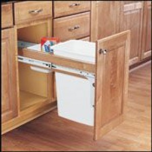 35 Qt. Top Mount Pull-Out Waste Container