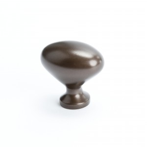 Adagio Oval Knob (Oil Rubbed Bronze) - 1 5/16""