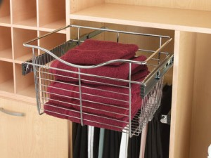 Closet Pull Out Wire Baskets