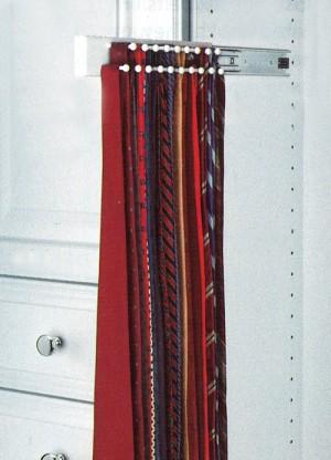 """12"""" Tie Rack (White)"""