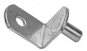 "Shelf Support (Nickel) - 1/4"""