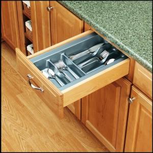 "11 1/2"" Cutlery Tray (Glossy Silver)"