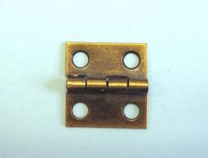 """1"""" x 1 1/16"""" Butt Hinge (Antique Brass)"""