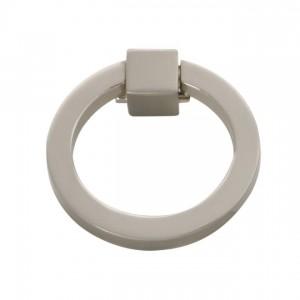 "Camarilla Ring Pull (Satin Nickel) - 2-3/32"""