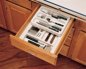 "11 3/4"" Half Cutlery Tray Set (Shallow)"