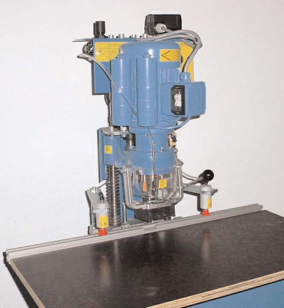 Blue Max Mini Hinge Boring Machine Blum Pattern 41144