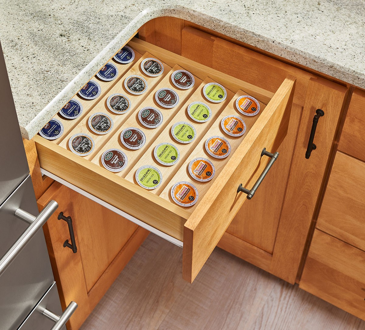 K Cup Tray Insert For 18 Quot Base Cabinet Drawers 4cdi 18
