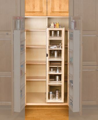 45 Quot Pantry Swing Out W Hardware Single 4wsp18 45 Rev A