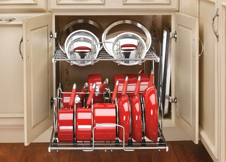 2 Tier Cookware Organizer 21 Quot 5cw2 2122 Cr Rev A Shelf