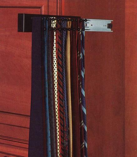 14 tie rack black cwstr 14b 1 rev a shelf. Black Bedroom Furniture Sets. Home Design Ideas
