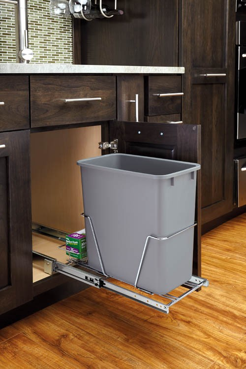 20 Qt Pull Out Waste Container Rv 8pb Cr S Rev A Shelf