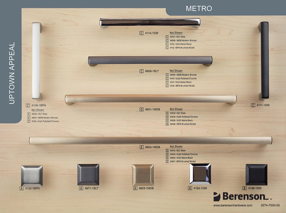 Metro Berenson Hardware Board
