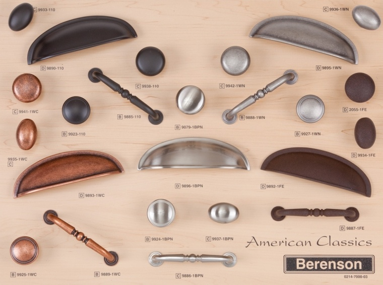 American Classics Berenson Decorative Hardware Board