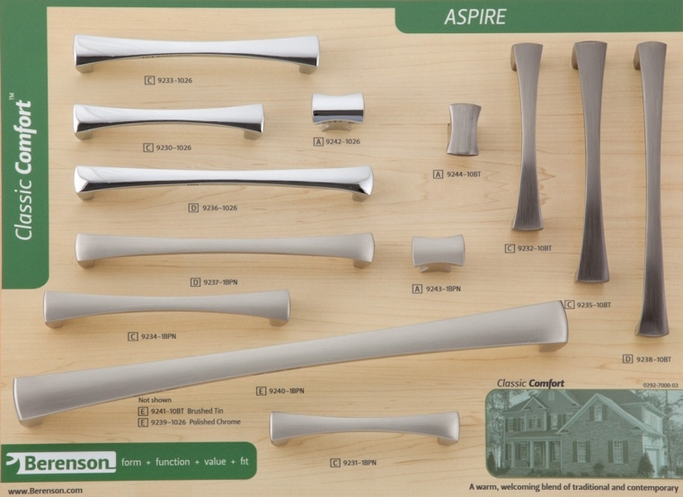 Aspire Berenson Decorative Hardware Board