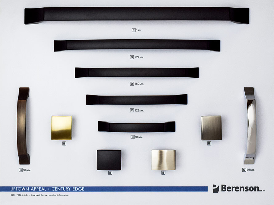 Century Edge Berenson Hardware Board