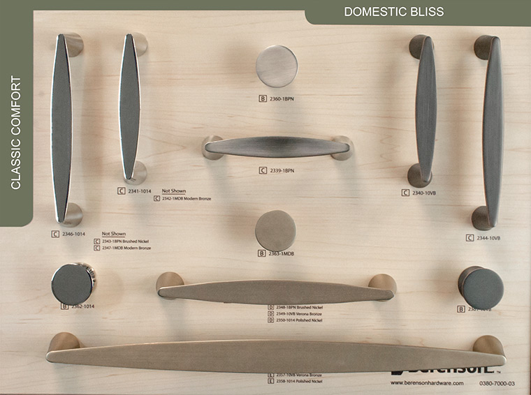 Domestic Bliss Berenson Decorative Hardware Board