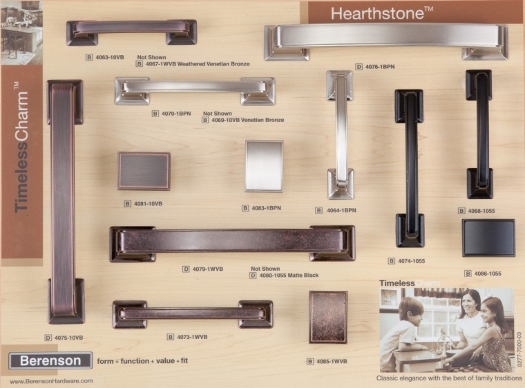 Hearthstone Decorative Hardware Board by Berenson