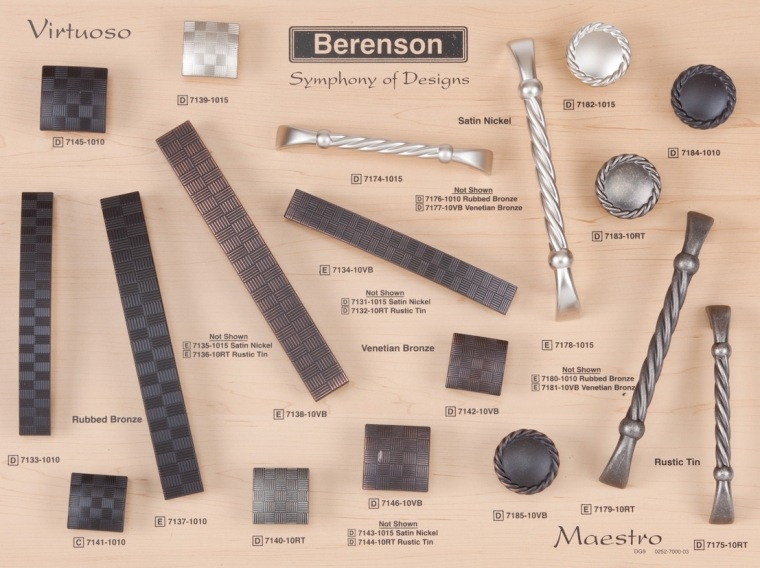 Classic Comfort Berenson Boards Decorative Hardware