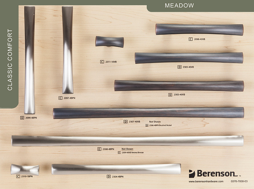 Meadow Berenson Decorative Hardware Board