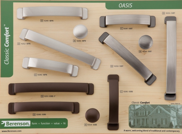 Oasis Berenson Decorative Hardware Board